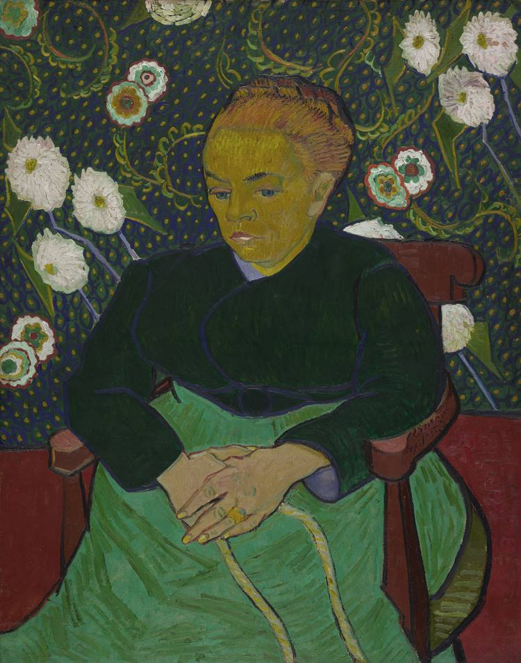 Vincent van Gogh Madame Roulin Rocking the Cradle